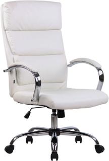 Chefkontorstol Bradford - PU-læder - Hvid