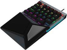 Yhden käden pelinäppäimistö RGB