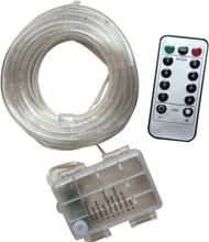 Paristokäyttöinen LED-nauha kaukosäätimellä