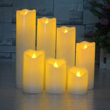 LED-kynttilä lepattavalla liekillä 5,3x10cm