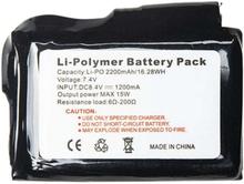 Heat Experience 2200mAh batterier til hansker/vott - 2 stk.