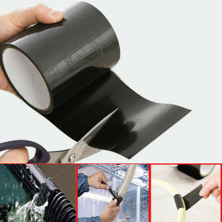 New Multi-fuction Self-adhesive Strong Black Rubber Silicone Repair Waterproof Bonding Tape Rescue Self Fusing Electrical Tape