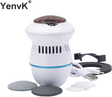 Electric Foot Files Vacuum Callus Remover USB Rechargeable Foot Grinder Callus Remover Feet Care for Hard Cracked Skin
