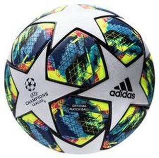 adidas Fotball Champions League 2020 Finale Kampball - Hvit/Turkis/Gul