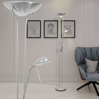 vidaXL Dimbar LED Golvlampa 23 W