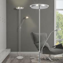 vidaXL Dimbar LED Golvlampa 23 W Silver