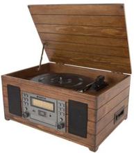 Champion Vinyl-/CD-spelare Multifunktion / Retro