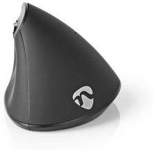 Nedis Ergonomisk trådlös mus | 1 600 dpi | 6 knappar | Svart