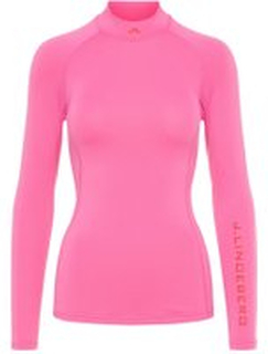 J.LINDEBERG W Åsa Soft Compression Training Top Kvinna Rosa