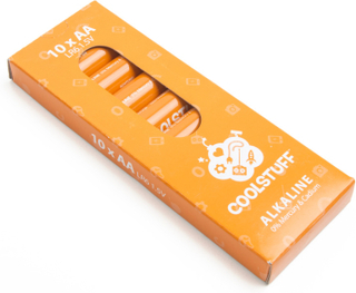 CoolStuff Batterier AA Alkaline 10-pack