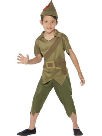 Robin Hood Maskeraddräkt Barn Small