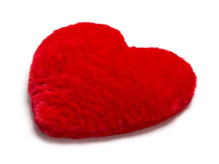 Cozy Heart Värmekudde