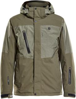 8848 Altitude Westmount Jacket Herre skijakker fôrede Grønn L