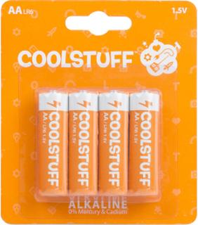 CoolStuff Batterier AA Alkaline 4-pack
