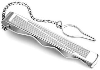 Gentlemen Stilren slipsenål - Silver