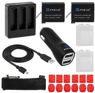 PULUZ Tillbehör 20 i ett batteri Combo Kit - Hero 4