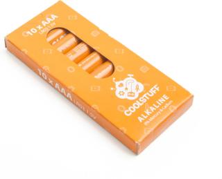 CoolStuff Batterier AAA Alkaline 10-pack