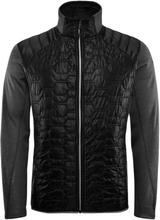Elevenate Men's Fusion Jacket Herre syntetjakker mellomlag Sort S