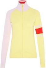 J.LINDEBERG W Raven Viscose Nylon Track Jacket Kvinna Gul