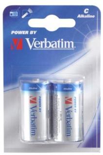 Verbatim C Alkaline Batteri, (LR14) 2-pack