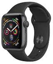 Watch Series 4 (GPS + Cellular) 44mm Black Stainless Steel Black Sport Band Space Grey
