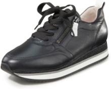 Sneakers i äkta läder från Gabor svart