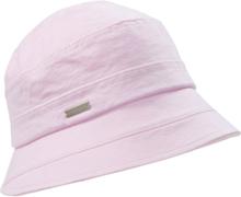 Hatt 100% bomull från Seeberger rosa