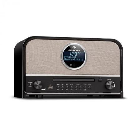 Columbia DAB radio 60 W max. CD DAB+/FM-tuner BT MP3 USB svart