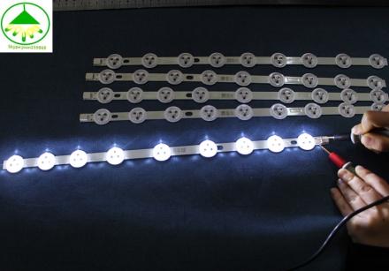 5 PCS/Lot 100% new Full LED Strip for LG 39'' TV VESTEL VES390UNDC-01 VES400UNDS-01 VES400UNDS-02 1 Piece=355mm