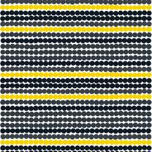 Räsymatto tyg gul-svart