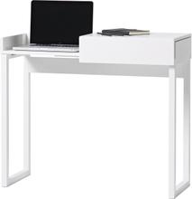 Hidden laptop bord vit