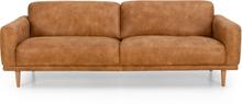 Hovås 3-sits soffa Foggia Brandy