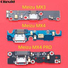 cltgxdd Microphone Module + Micro USB Charging Port Board Flex Cable Dock Connector For Meizu MX 2 3 4 4PRO MX2 MX3 MX4 PRO