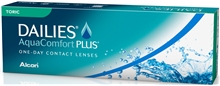 DAILIES AquaComfort Plus Toric 30p