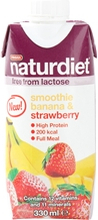 Naturdiet Free Shake No Lactose 330 ml Banana-Strawberry