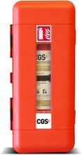 Brandsläckarskåp CGS för 6-12 kg pulver- och 6-9 l skumsläckare