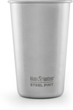 Klean Kanteen Steel Pint 473 ml Harjattua terästä