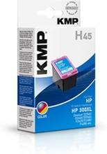 KMP H45 - HP 300XL Tri-Colour - 1710.4440