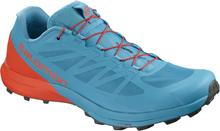 Salomon Shoes Sense Pro 3 Fjord Blue/Cherry Tomato/Urban Chic Trailrunningsko