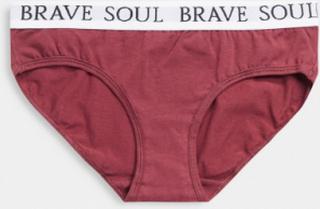 Brave Soul 3 pack rose briefs-Pink
