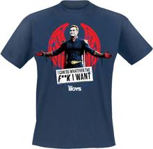 The Boys - I Can Do Whatever The F**K I Want! -T-skjorte - blå