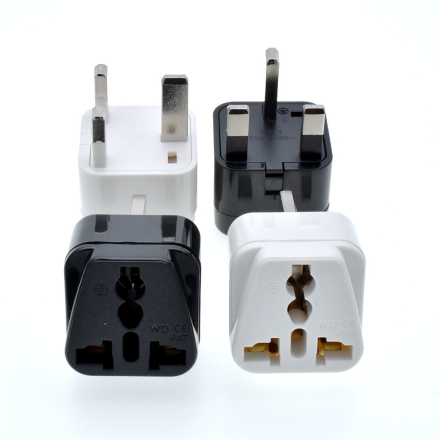 2018 Universal Grounded Type G for GB UK HK AC Power Plug Travel Trip Adaptor Adapter UK, Ireland, Cyprus, Malta, Malaysia,