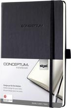 Sigel anteckningsbok Conceptum/CO120 A5 h svart 80 g