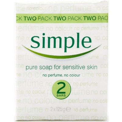Simple Pure Soap Twin Pack 2 kpl