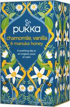 Pukka Bio-Tee Kamille, Vanille & Manuka-Honig 20 stk