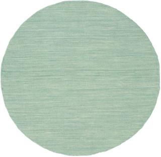 Kelim loom - Mint Grön matta Ø 100 Modern, Rund Matta