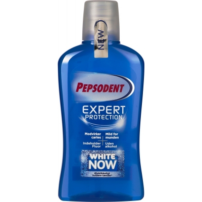 Pepsodent Expert Protection White Now Mundskyl 500 ml