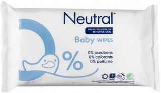 Neutral Baby Vådservietter 63 stk