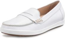 Loafers i äkta läder från Gabor Comfort vit