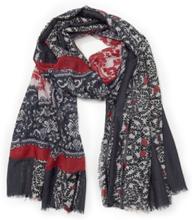 Vävd scarf från Emilia Lay blå